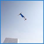 フリースタイルスキー エアリアルで田原直哉選手が3位入賞