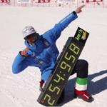 スピードスキーで新世界記録が樹立