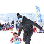 ハピスノ 雪上親子運動会